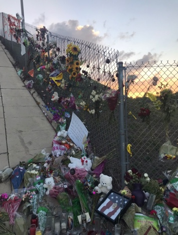 The memorial brought different communities together and grieved for the souls lost.