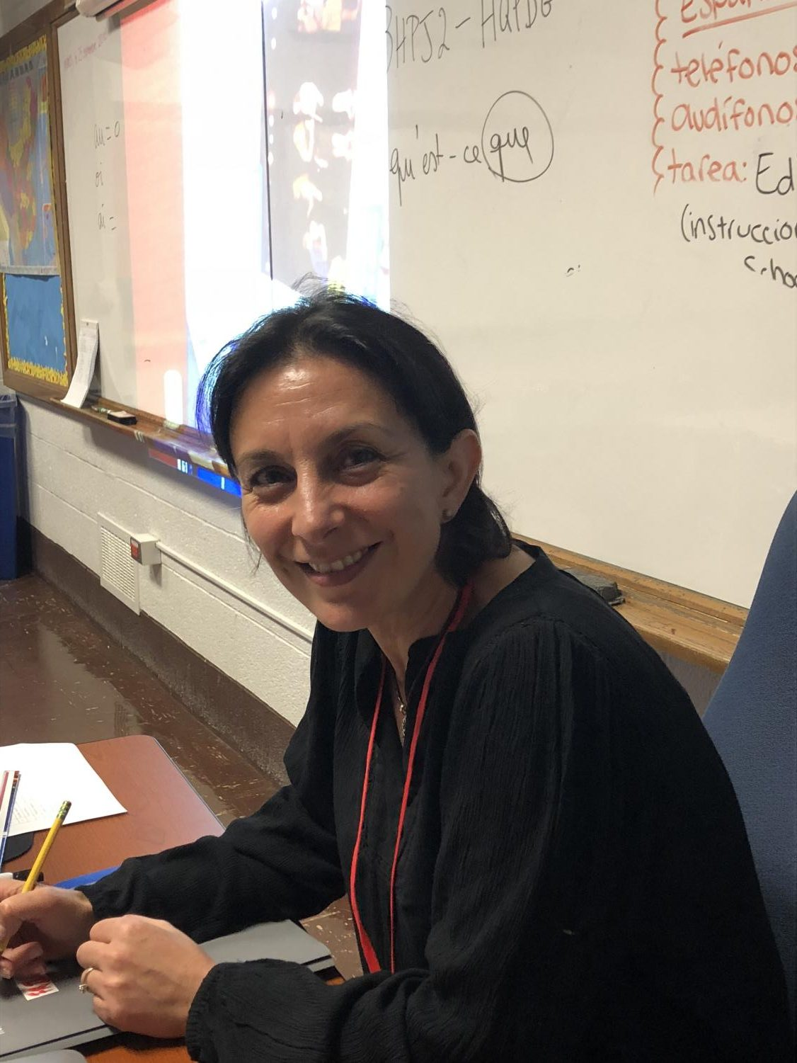 Meltem Spicer shares her passion for the French language with others everyday through teaching.
