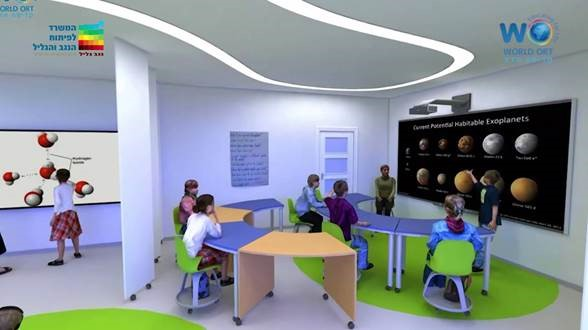 With advances in technology, students could be learning in classrooms such as this one.
