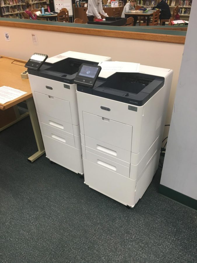 The new Xerox models were added to the school in September