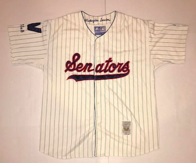 Rare+90s+Washington+Senators+Cooperstown+Classic+Starter+Jersey%0ASize+extra+large%0A%24100