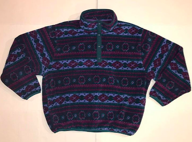 Vintage+Made+in+U.S.A.+L.L.Bean+Snap+Up+Fleece%0ASize+large%0A%2420