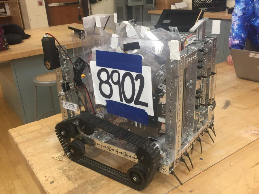 Cosmic Goose Robotics constructed their robot from a TETRIX robotics kits. These kits are a staple for FTC teams across the country.