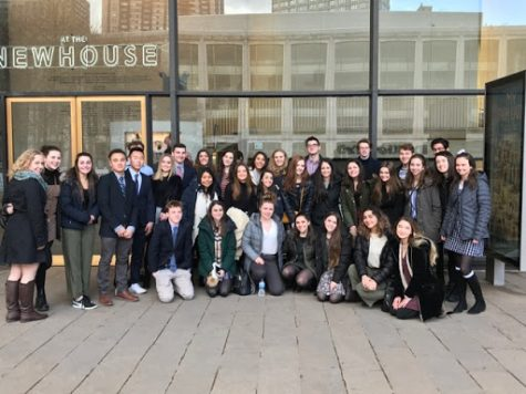 Students see My Fair Lady at Lincoln Center