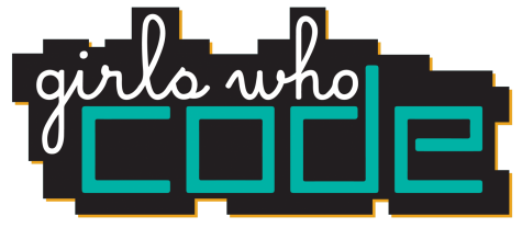 This is the logo for the club, Girls Who Code.
