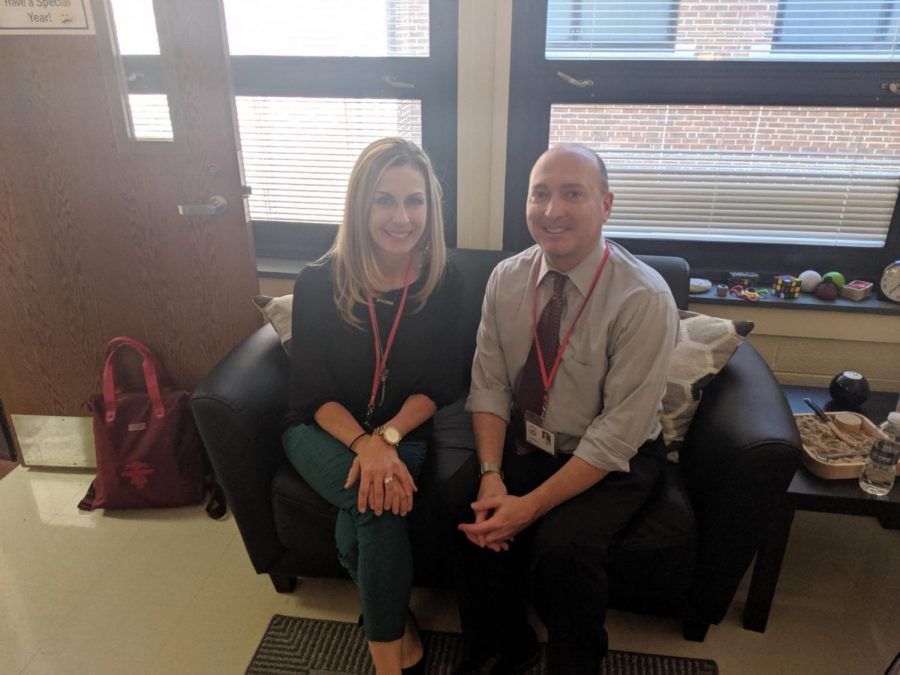 Kristen Petullo and John Selleck's favorite part of working in Glen Rock is getting to know new students. Prior to working in Glen Rock, they were colleagues at Sage Day School in Rochelle Park.