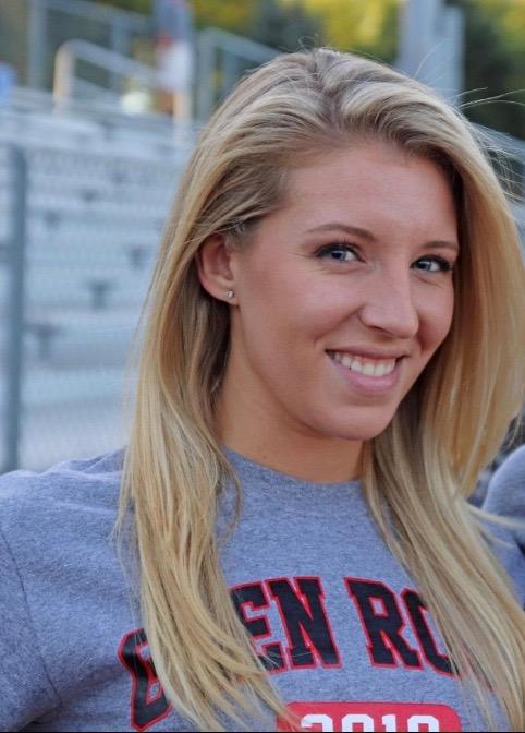 Coach Erica Little joined the Glen Rock High School cheerleading program as head coach this year.