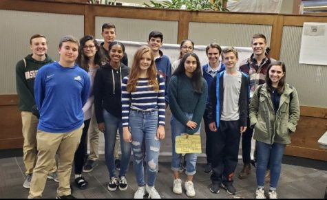 The Glen Echo travels to Rutgers for student press conference