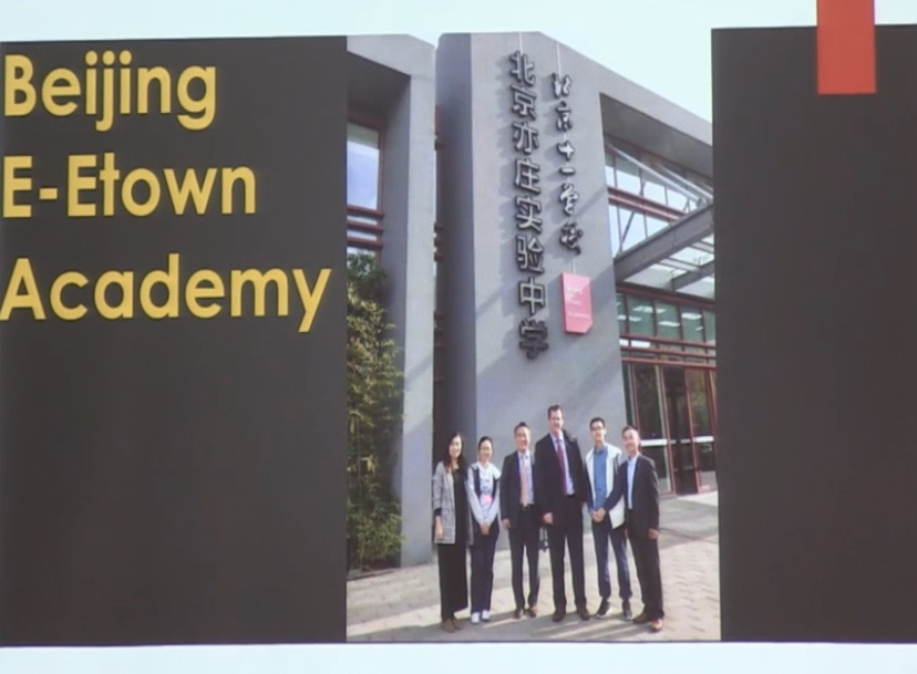 Beijing+E-Town+Academy+is+one+of+many+schools+which+Charleston+and+Hayward+visited+during+their+recent+trip+to+China+to+examine+partner+schools.++