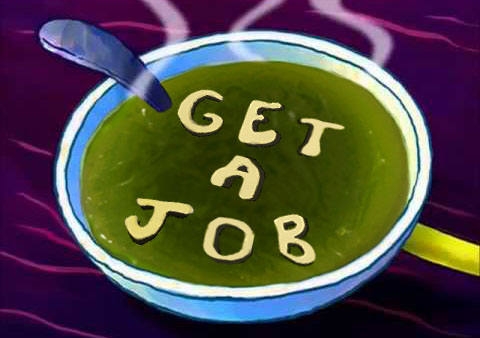 Spongebob's Alphabet Soup