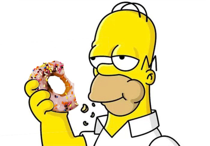 Homer+Simpson%27s+Pink+Donut