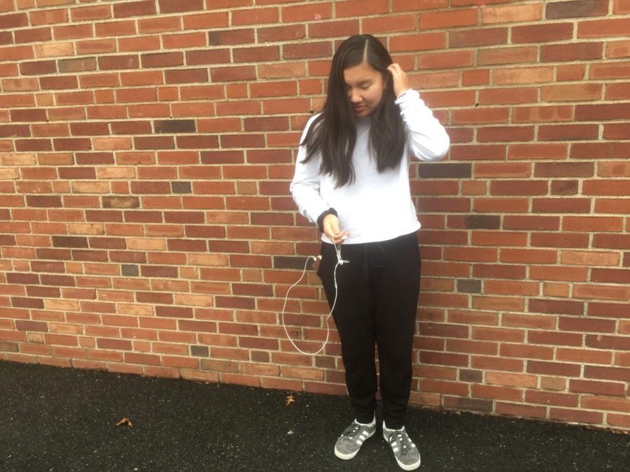 Mikayla Kim places true value on the comfort of her clothes, which ease her through a busy day both in and after school.