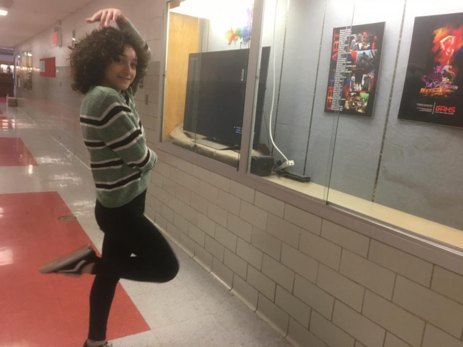 To match her fun personality, Sophie Schwartz is often found looking bright and exuberant throughout the school day.