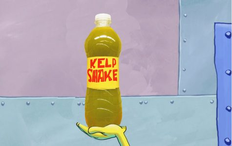 Spongebob's Kelp Shake