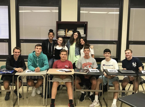 The 2019-2020 Journalism class. These members play a crucial and integral role in the success of the Glen Echo  by always showing eagerness to learn more about being better journalists.