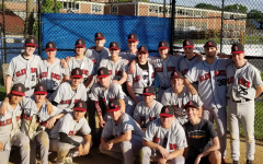 The 2019 baseball team poses for a picture after their last game. Little did the returning athletes know that their 2020 season would be in jeopardy.