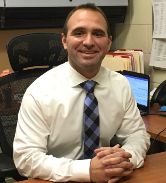 Escalante, a familiar face around Glen Rock High School as a gym teacher, has taken over Mr. Pepe's position as Acting Middle School Assistant Principal.