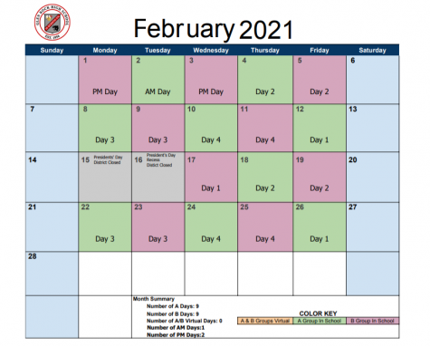 New virtual schedule excites students